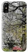 Emerging Of Spring IPhone Case