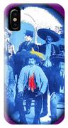 Emiliano Zapata In Group Portrait Xochimilco  Outside Of Mexico City 1914-2013 IPhone Case