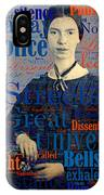 Emily Dickinson IPhone Case