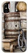 Emptied Barrels IPhone Case