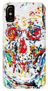 Enamels Skull Painting IPhone Case