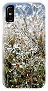 Encased In Ice IPhone Case