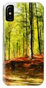 Enchanted Forest - Drawing  IPhone Case