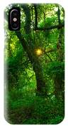 Enchanted Green Path IPhone Case
