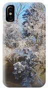 Enchanted January Morning At The Pillars IPhone Case