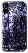 Enchanted Plum Forest IPhone Case