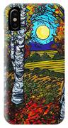 End Of Summer Birches IPhone Case