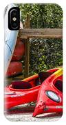 End Of Summer Fun IPhone Case by Carolyn Marshall