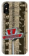 End Of The Line At Long Branch IPhone Case