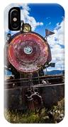 End Of The Line - Steam Locomotive IPhone Case