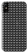Endless Butterflies On Black IPhone Case
