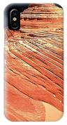 Endless Lines In Sandstone IPhone Case