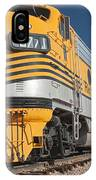 Engine 5771 In The Colorado Railroad Museum IPhone Case