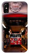 Engine Company 65 Firehouse Midtown Manhattan IPhone Case