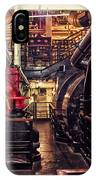 Engine Room Queen Mary 02 IPhone Case