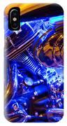 Engine Shimmer IPhone Case