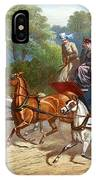 England Road Travel, 1880 IPhone Case