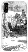 England Royal Sledge, 1854 IPhone Case