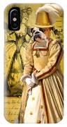 English Bulldog Art Canvas Print  IPhone Case