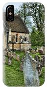English Church Yard IPhone Case