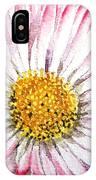 English Daisy IPhone Case