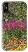 English Garden In Summertime IPhone Case