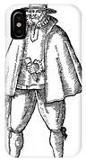 English Merchant, 1598 IPhone Case