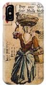 English Playing Card, C1754 IPhone Case