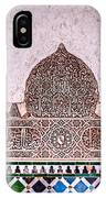 Engraved Writing And Colored Tiles No1 IPhone Case