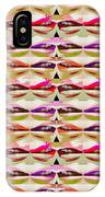 Enjoy Bliss Of Artistic Sensual Aura Lips  Kiss Romance Pattern Digital Graphic Signature   Art  Nav IPhone Case