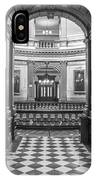 Entrance At Michigan State Capital  IPhone Case