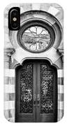 Entry Bw Charleston Sc IPhone Case