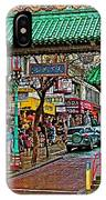 Entry Gate To Chinatown In San Francisco-california IPhone Case