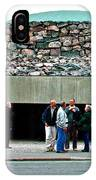 Entry To Church In The Rock In Helsinki-finland IPhone Case