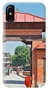 Entry To Pasupatinath Temple Of Cremation Complex In Kathmandu-nepal    IPhone Case
