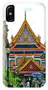 Entryway To Middle Court Of Grand Palace Of Thailand In Bangkok IPhone Case