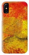 Envision Red Golden IPhone Case