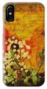 Envoi De Fleurs IPhone Case