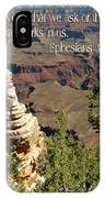 Ephesians 3 Verse 20 IPhone Case