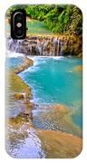 Erawan Waterfalls Thailand IPhone Case