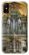 Erfurt Pipe Organ IPhone Case