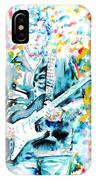 Eric Clapton - Watercolor Portrait IPhone Case