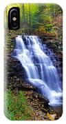 Erie Falls Vertical Panoramic IPhone Case