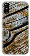 Eroded Old Wooden Board IPhone Case