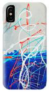 Erupting Blues IPhone Case