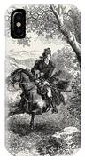 Escape Of Benedict Arnold, 1740-1801 IPhone Case