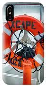 Escape To The Sea IPhone Case