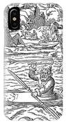 Eskimos Hunting, 1580 IPhone Case