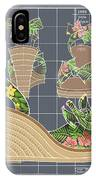 Espadrille - Tropicale IPhone Case