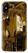 Espanola Way In Miami South Beach IPhone Case